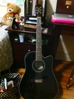 My electric-acoustic guitar