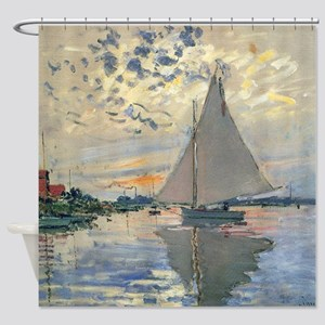 Monet_Sailboat_French_Impressionist_Shower_Curtain_300x300