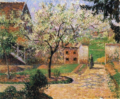Camille_Pissarro_-_Flowering_Plum_Tree,_Eragny
