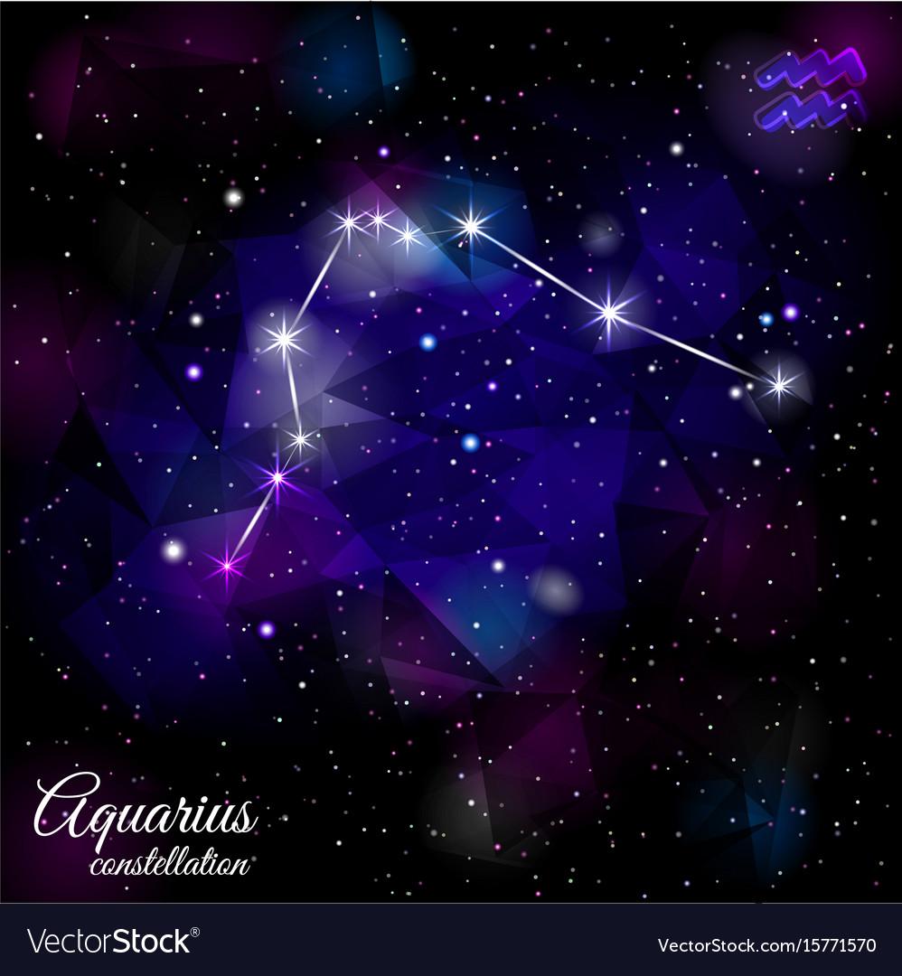 aquarius-constellation-with-triangular-background-vector-15771570