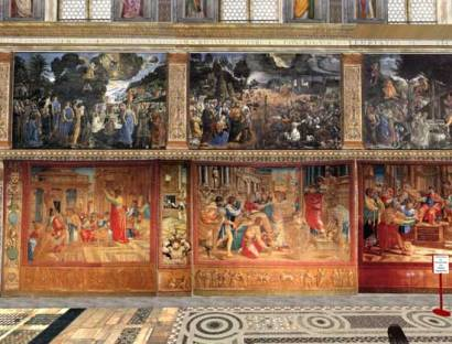Tapestries-in-the-Sistine-Chapel